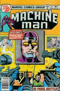 Machine Man #9 FN; Marvel | save on shipping - details inside