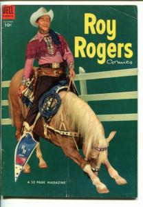 ROY ROGERS #71-1953- PHOTO COVER-KING OF THE COWBOYS-vg