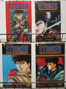 STRIKER SECRET OF THE BERSERKER (1995 VIZ)1-4 THE SET!