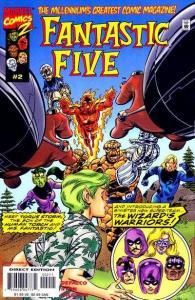Fantastic Five (1999 series) #2, NM- (Stock photo)