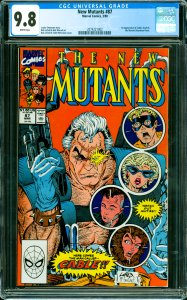 New Mutants #87 CGC Graded 9.8 1st appearance of Cable, Stryfe & the Mutant L...