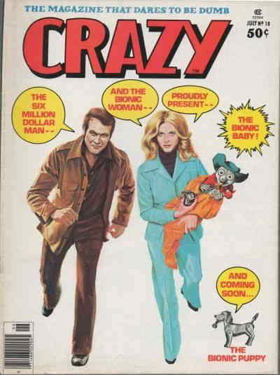 Crazy (Magazine) #18 VG; Marvel | low grade comic - save on shipping - details i
