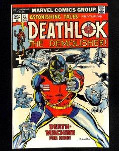 Astonishing Tales #26 2nd Deathlok!