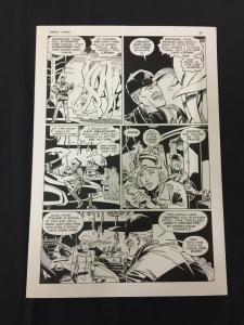 Captain Cosmos Page 37 Original Art Joe Stanton Nicola Cuti Space Opera