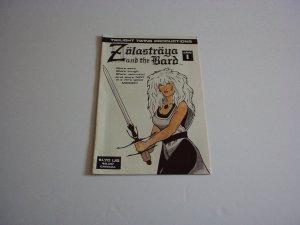 ZOLASTRAYA And The BARD Comic #1, January 1987 New