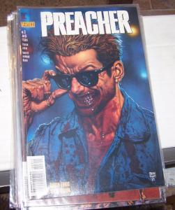 preacher  # 3 vertigo dc 1995 garth Ennis high quality HOT !! PAINTED COVER