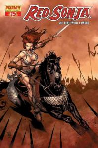 Red Sonja (Dynamite) #15A VF/NM; Dynamite | save on shipping - details inside