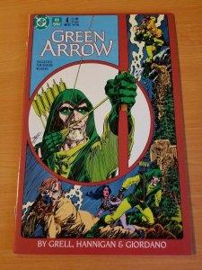 Green Arrow #4 ~ NEAR MINT NM ~ (1988, DC Comics)