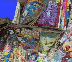 1990s+ DC & MARVEL READER'S COPIES SHORT WHITE BOX! 150+ BOOKS! Poor-Good