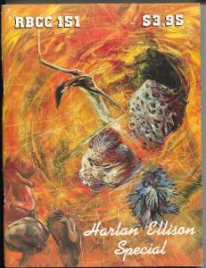 Rocket's Blast Comic Collector #151 1980-Van Hise-Harlan Ellison Edition-FN