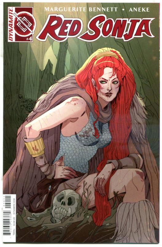 RED SONJA #4, NM-, She-Devil, Vol 3, Sauvage, 2016, more RS in store