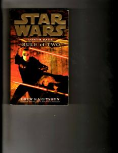 2 Books Star Wars: Darth Bane Rule of Two, Cry to Heaven J392