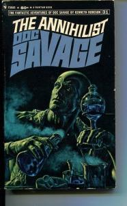 DOC SAVAGE-THE ANNHILIST-#31-ROBESON-VG/FN-JAMES BAMA COVER-1ST EDITION VG/FN