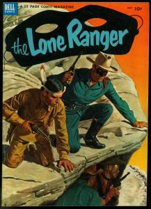 THE LONE RANGER #59-1953-DELL-TONTO-SILVER-SILVER BULLET-vf