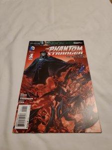 Phantom Stranger 1 Near Mint- Cover by Brent Anderson