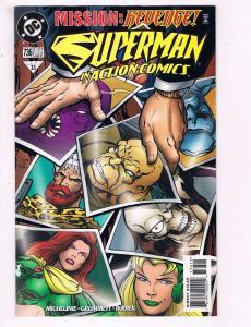 Action Comics #736 VF DC Comics Comic Book Superman Stern 1997 DE11