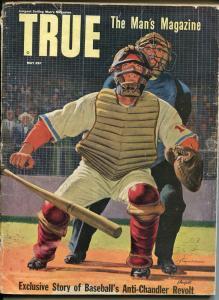 True  5/1951-Fawcett-baseball-Sugar Ray Robinson-pulp thrills-Dagmar-GOOD
