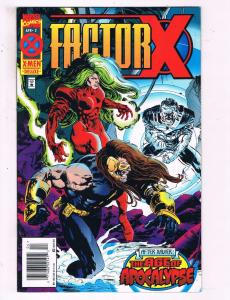 Factor X #2 VF Marvel Comics Age Of Apocalypse Comic Book 1995 DE16