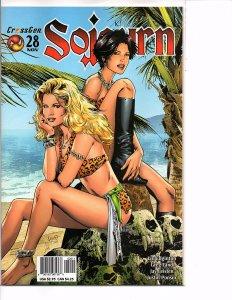 Crossgen Comics Sojourn #28 Greg Land Art Hot Bikini Cover