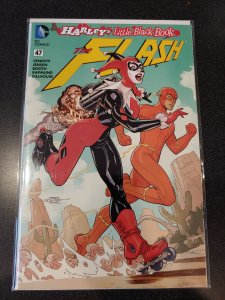 Flash # 47 Terry Dodson Color Harley Quinn Variant Cover NM DC