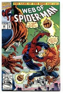 Web of Spider-Man #86 Marvel- 1st appearance of Demogoblin