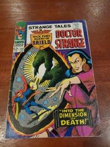 Strange Tales #152 Low Grade 1967 Marvel Comics Doctor Strange Nick Fury Umar