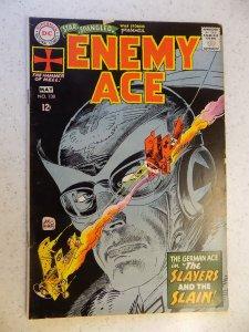 STAR SPANGLED WAR STORIES # 138 DC SILVER ENEMY ACE BEGINS WAR ACTION KUBERT