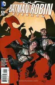 Batman & Robin Eternal #4 VF/NM; DC | save on shipping - details inside