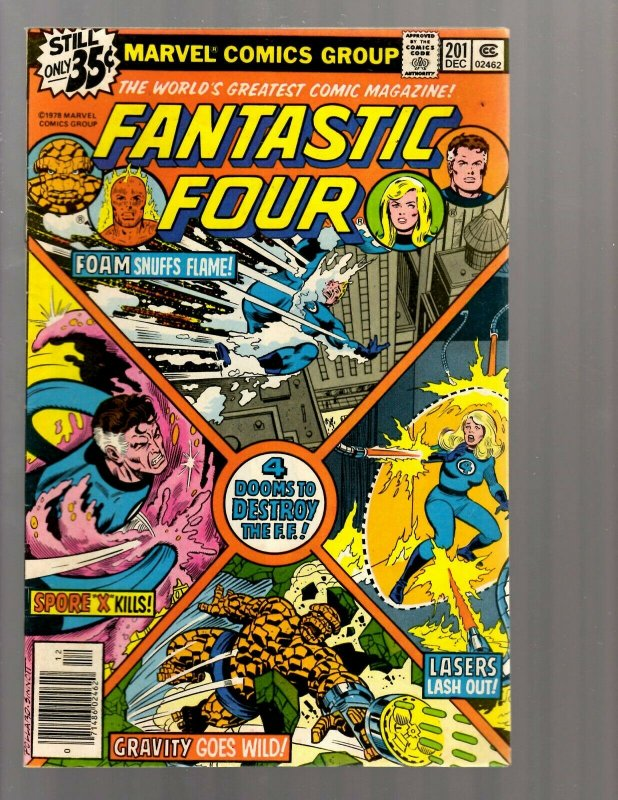 11 Comics Fantastic Four #198 199 200 201 211 357 Cap & Iron Man 3 5 & more GK60