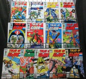 Tales of GI Joe A Real American Hero (Marvel 1988) Lot #1-4, 6-8, 10-15 Reprints