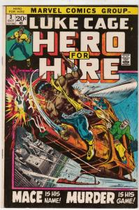 Luke Cage Hero for Hire #3 (Oct-72) VF/NM- High-Grade Luke Cage