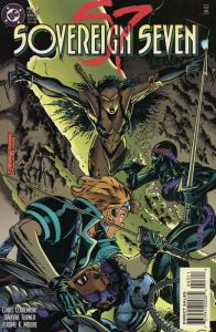 Sovereign Seven #3 VF/NM; DC | save on shipping - details inside