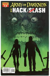 ARMY OF DARKNESS HACK SLASH #2 A, VF, 2013, Horror, more AOD in store