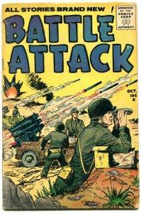 BATTLE ATTACK #7 STANMOR KOREAN WAR ROCKET LAUNCH COVER G