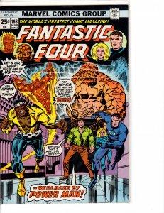 Fantastic Four (1961) #168 VF- (7.5) Luke Cage