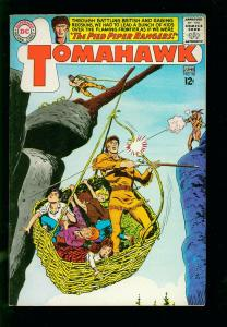 TOMAHAWK #98-1965- DC WESTERN -PIED PIPER RANGERS- SILVER AGE-vf