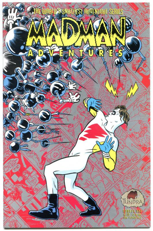 MADMAN ADVENTURES #1, NM, Mike Allred, 1992, 1st, Tundra, more indies in store