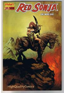 RED SONJA - ONE MORE DAY, NM, Liam Sharp, Justin Gray, 2005, more RS in store