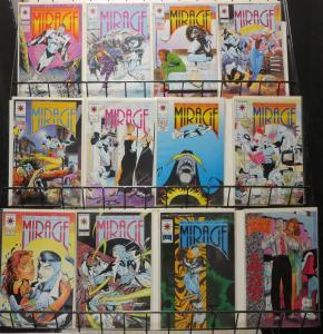 Valiant Lot of 64Diff In. Doctor Mirage Ninjak Rai Alternative Superhero Tales