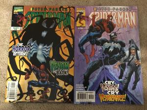 Marvel Peter Parker Spider-Man 9 & 10 * Venom * NM