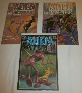 Alien Encounters #1,2,4 (set of 3) Eclipse, Truman, Hempel, Bolton cover