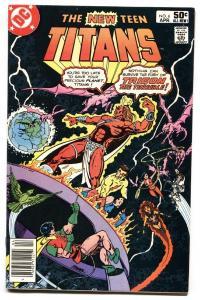 NEW TEEN TITANS #6 RAVEN origin comic book  1981 DC