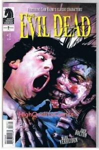 EVIL DEAD #3, VF+, Sam Raimi, John Bolton, Zombies, 2008, more AOD in store