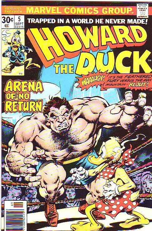 Howard the Duck #5 (Sep-76) NM- High-Grade Howard the Duck