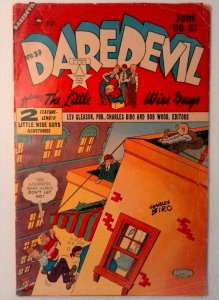 Daredevil Comics #87 Lev Gleason 1952 FR/GD Golden Age Comic Book Little Wise Gu
