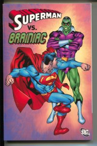 Superman Vs. Brainiac-Jerry Siegel-TPB-trade