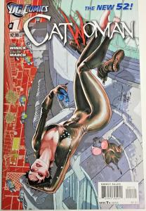 CATWOMAN#1 VF/NM 2011 SECOND PRINT VARIANT DC COMICS THE NEW 52!