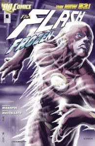 The Flash #6 Variant cover 2011 (NM) stock photo