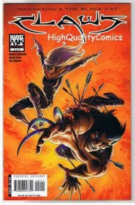CLAWS #2, VF+, Joseph Linsner, Wolverine, Black Cat, 2006, more JML  in store