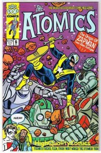 ATOMICS #6, NM+ Mike Allred, Madman, 2000 , more in store